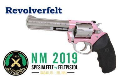 Bilder, video og resultater fra revolverfelt NM 2019