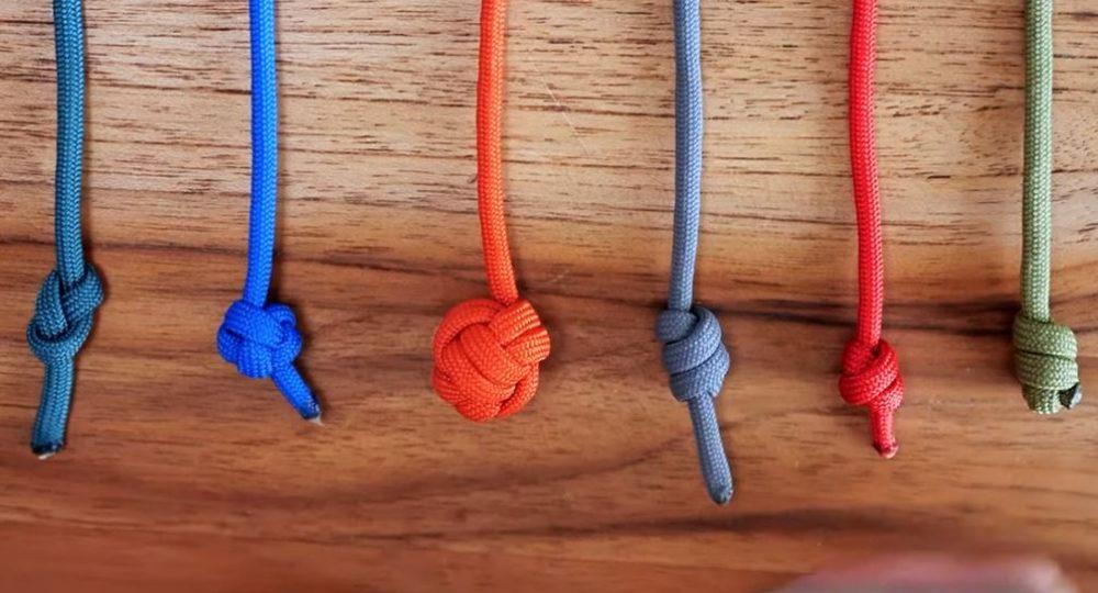 6 Single Strand Stopper Knots