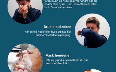 Koronavirus – Avlysning av stevner